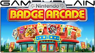 Nintendo Badge Arcade - Game & Watch (Video Preview)
