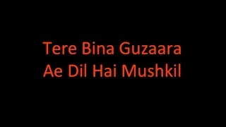 Ae Dil Hai Mushkil - Female - Karaoke with Lyrics - By Parin Shah (Best on YouTube)
