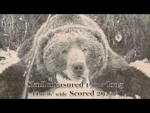 KODIAK BEAR HUNT 1951 WORLD RECORD