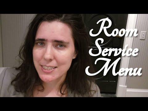 ASMR Room Service Menu Reading Role Play (Mayfair Hotel Adelaide)