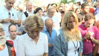 Mirjana-Apparition in Medjugorie and message 02.08.2014