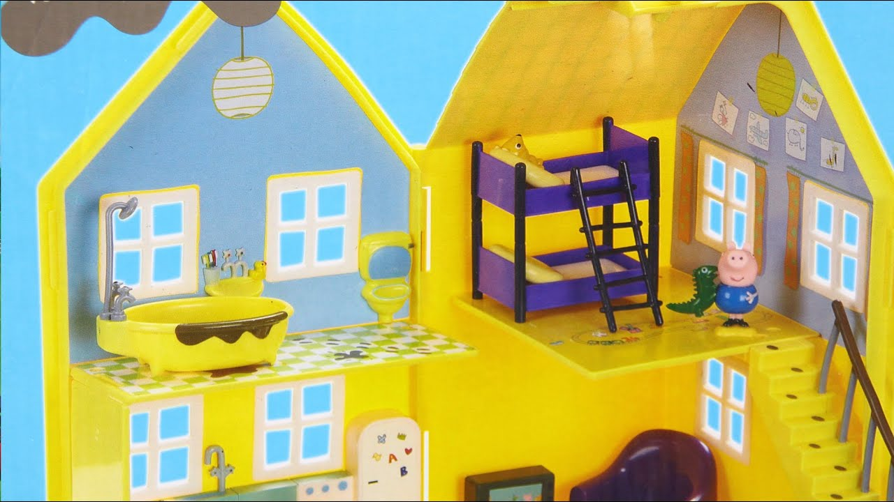Peppa Pig Deluxe Playhouse  Domek Rozkadany winki Peppy