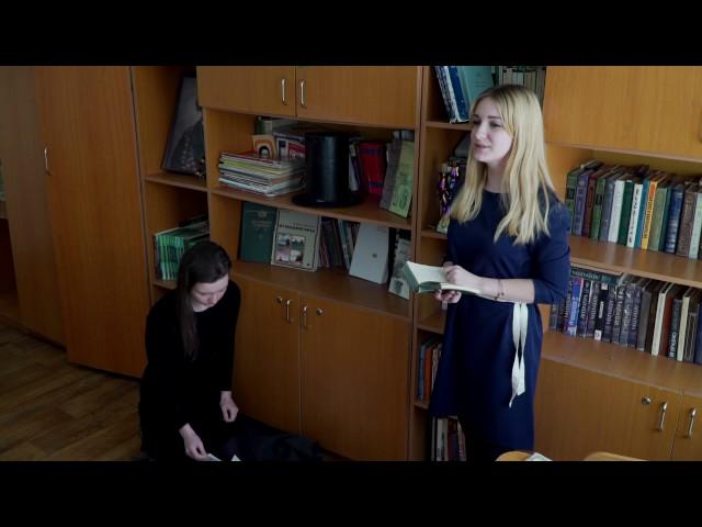 Изображение предпросмотра прочтения – АринаПантус читает произведение «Она сидела наполу…» Ф.И.Тютчева