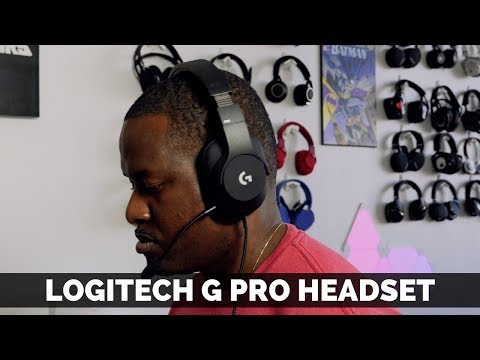 Logitech G Pro Gaming Headset Review! - YouTube