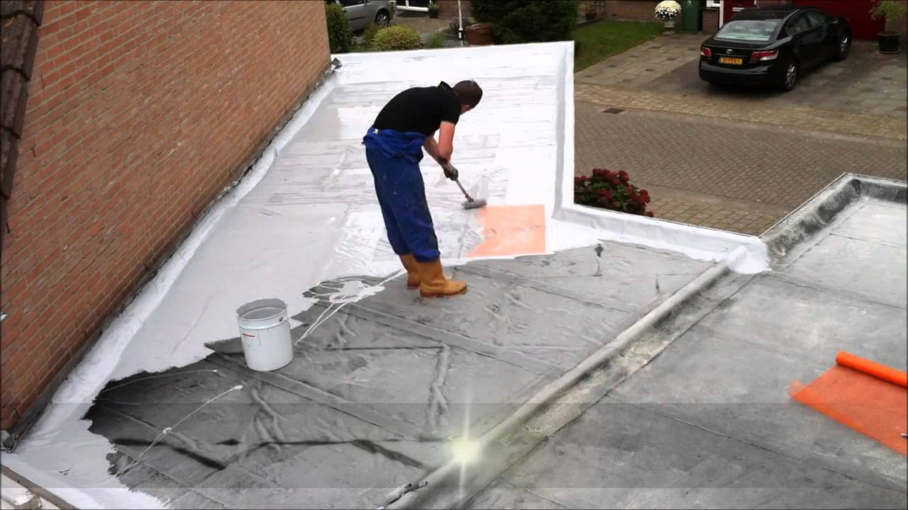 Super Kleijn Coatings - Enduroof dakcoating - YouTube FW11