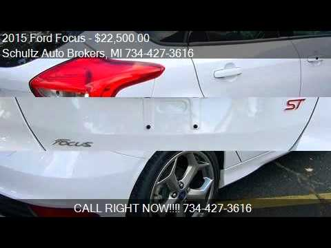 2015 Ford Focus for sale in Livonia, MI 48150 at the Schultz