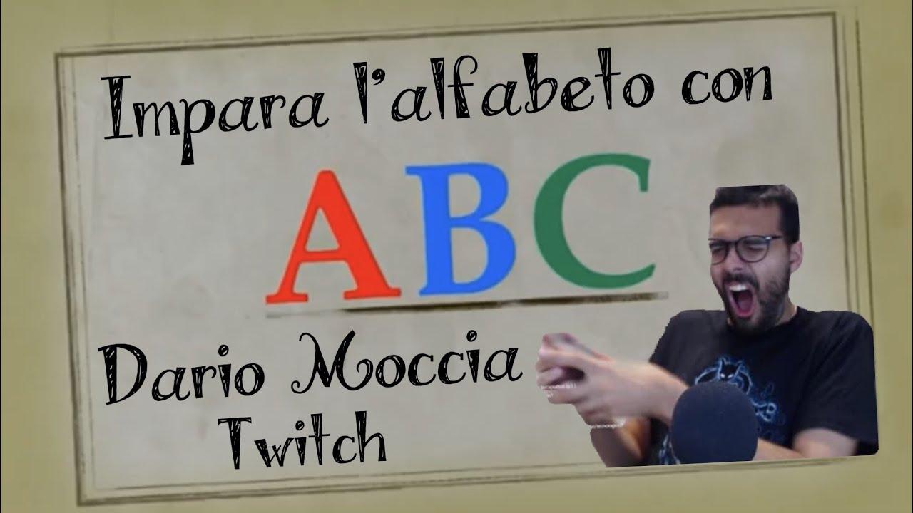 Impara l'alfabeto con Dario Moccia Twitch (clip storiche e momenti più divertenti del Dariòn)