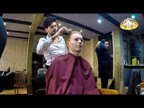 HITCHIN'S BEST BARBER - VLOG #60