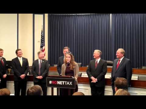 Free Congress Foundation President, Governor Jim Gilmore Participates in #NoNetTax Press Conference
