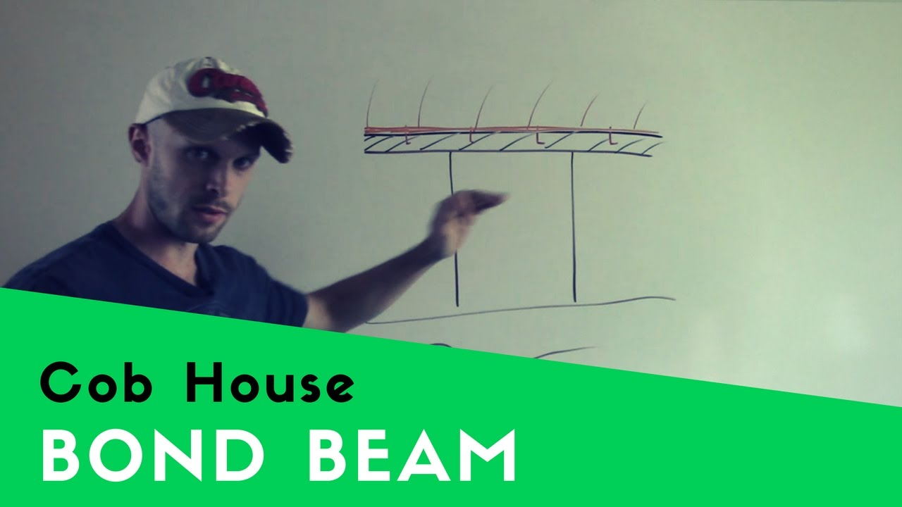 Why You Should Give Your Cob House A Concrete Bond Beam
