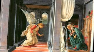 | Annunciation | Thomas Schoenberger From the famed Uffizi Gallery in Florence, Italy