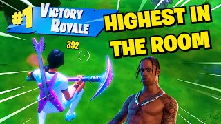 """The BEST """"HIGHEST IN THE ROOM"""" Fortnite Montage (Travis Scott)"""