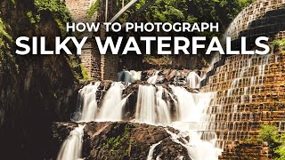 How to Photograph Silky-Smooth Waterfalls #Shorts