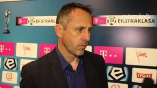 Robert Warzycha o meczu z Cracovią (04.04.2014)