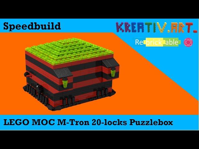 LEGO® MOC M-Tron 20-locks Puzzlebox | Speedbuild