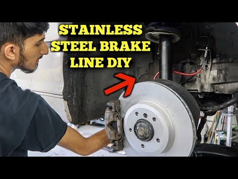How To Install Stainless Steel Brake Lines On BMW DIY