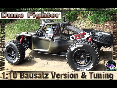 Dune Fighter Brushless 1:10 (Bausatz Version) [Reely] in Army Style 💪