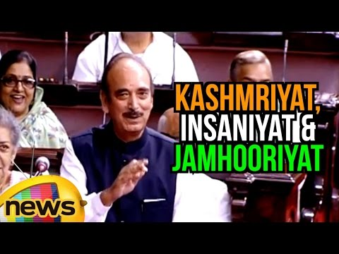Ghulam Nabi Azad Satires On PM Modi Statement Over Kashmriyat, Insaniyat & Jamhooriyat