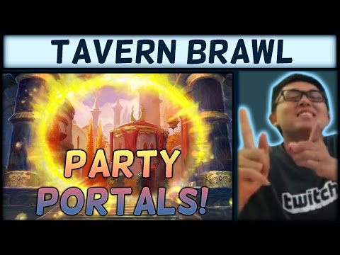 [Hearthstone] Tavern Brawl: Party Portals