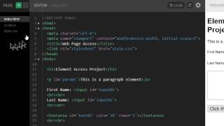 Accessing Web Page Elements with JavaScript