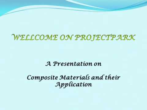 Composite Material And Their Application mechanical