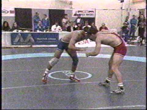 1992 Pan-American Championships: 82 kg Bronze David Hohl (CAN) vs. Diego Potap (ARG)