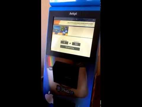 Автомат по печати фото из инстаграм PhotoJet