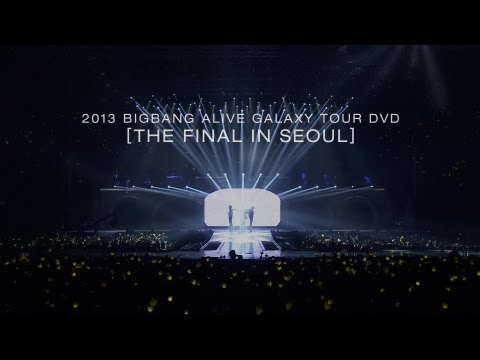 2013 BIGBANG ALIVE GALAXY TOUR DVD -THE FINAL IN SEOUL- Release spot
