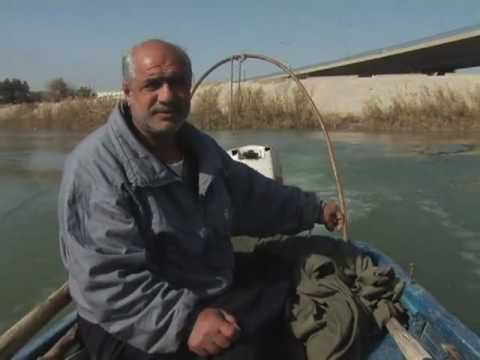 Tigris River Fisherman
