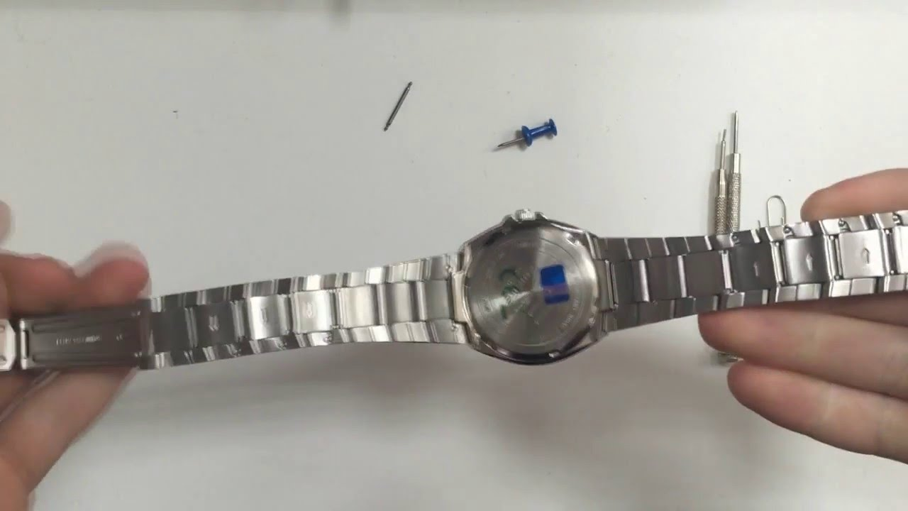 Как поменять браслет на женских часах