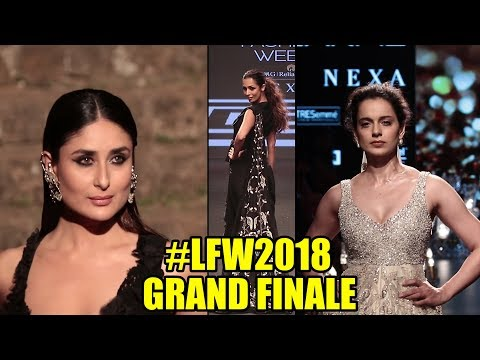 The Lakme Fashion Show 2018 | #LFW GRAND FINALE | Kareena Kapoor, Kangana, Malaika Arora Khan
