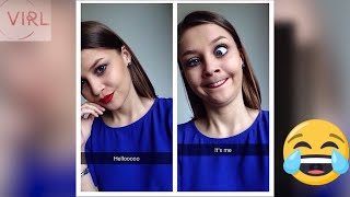 Funny selfie video| Selfie images of pretty girls pulling ugly faces