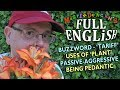 Full English Lesson (27) - What does Pedantic mean? / What is a tariff? / Uses of the word 'plant'