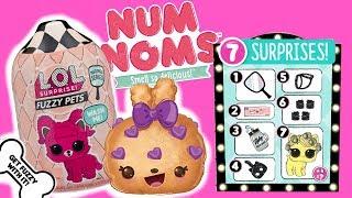 LOL Surprise Fuzzy Pets  Num Noms  Nowy kotek  bajka po polsku