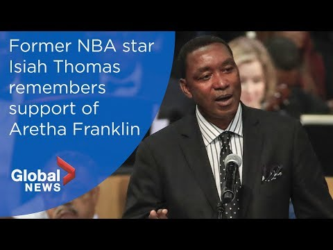 Aretha Franklin funeral: Isiah Thomas FULL eulogy - YouTube