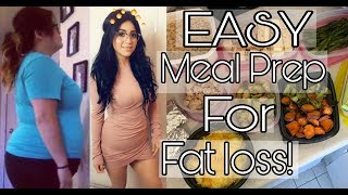 Easiest Meal Prepping Video (How I'm Losing Weight Again)