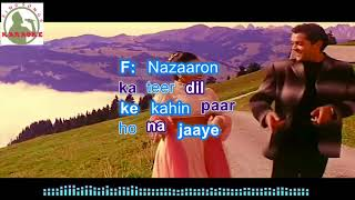 NA MILO KAHIN PYAR Hindi karaoke for Male singers