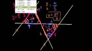 Подобные треугольники. Часть 2