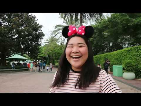 hong kong disneyland travel vlog