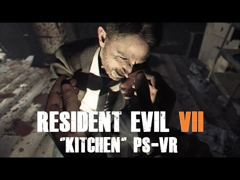 "Playstation VR | Resident Evil 7 | Demo ""Kitchen"""
