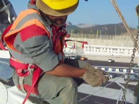 Maroc : Tanger-Méd : Gare Maritime