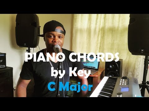 Chords By Key Piano Chords In The Key Of C Major Youtube