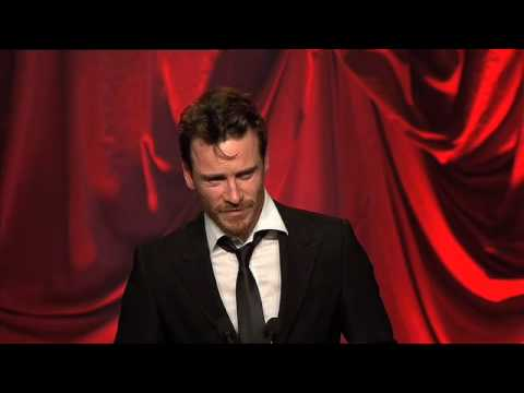 Liam Cunningham - IFTA Winner 2009...Michael Fassbender accepts,