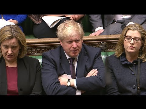 Boris Johnson appears to swear during Prime Minister