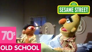 Sesame Street: Ernie Eats Cookies in Bed | #ThrowbackThursday