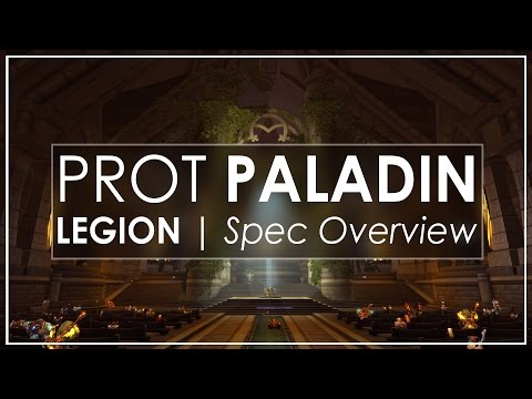 WoW Legion Alpha: Protection Paladin Is Very Different! [Spec Overview]