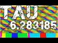 Tau the Song with 6.28318 Million Notes