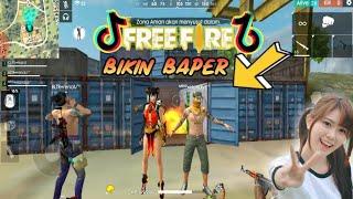 Tik tok ff Free Fire Romantis!! (Bikin Baper) Part 37