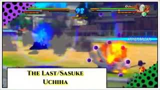 Naruto Shippuden Ultimate Ninja Storm 4 - Naruto & Sasuke/The Last - Combos - Gameplay -