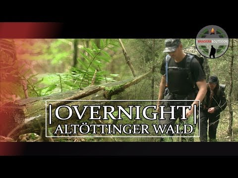 Overnight im Altöttinger Wald | Erste Erkundung des Waldes